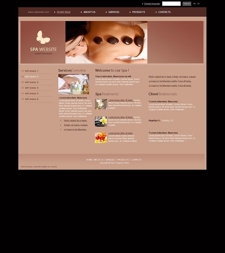 เว็บไซต์สำเร็จรูปที่ใช้งานง่ายถูกใจ -website template 1513