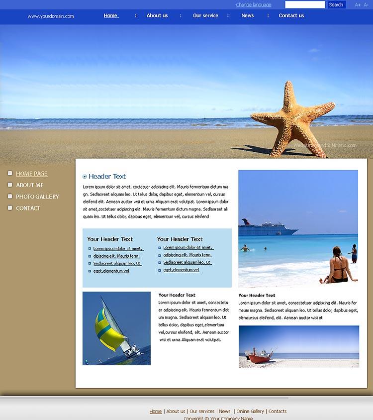เว็บไซต์สำเร็จรูปที่ใช้งานง่ายถูกใจ -website template 1522