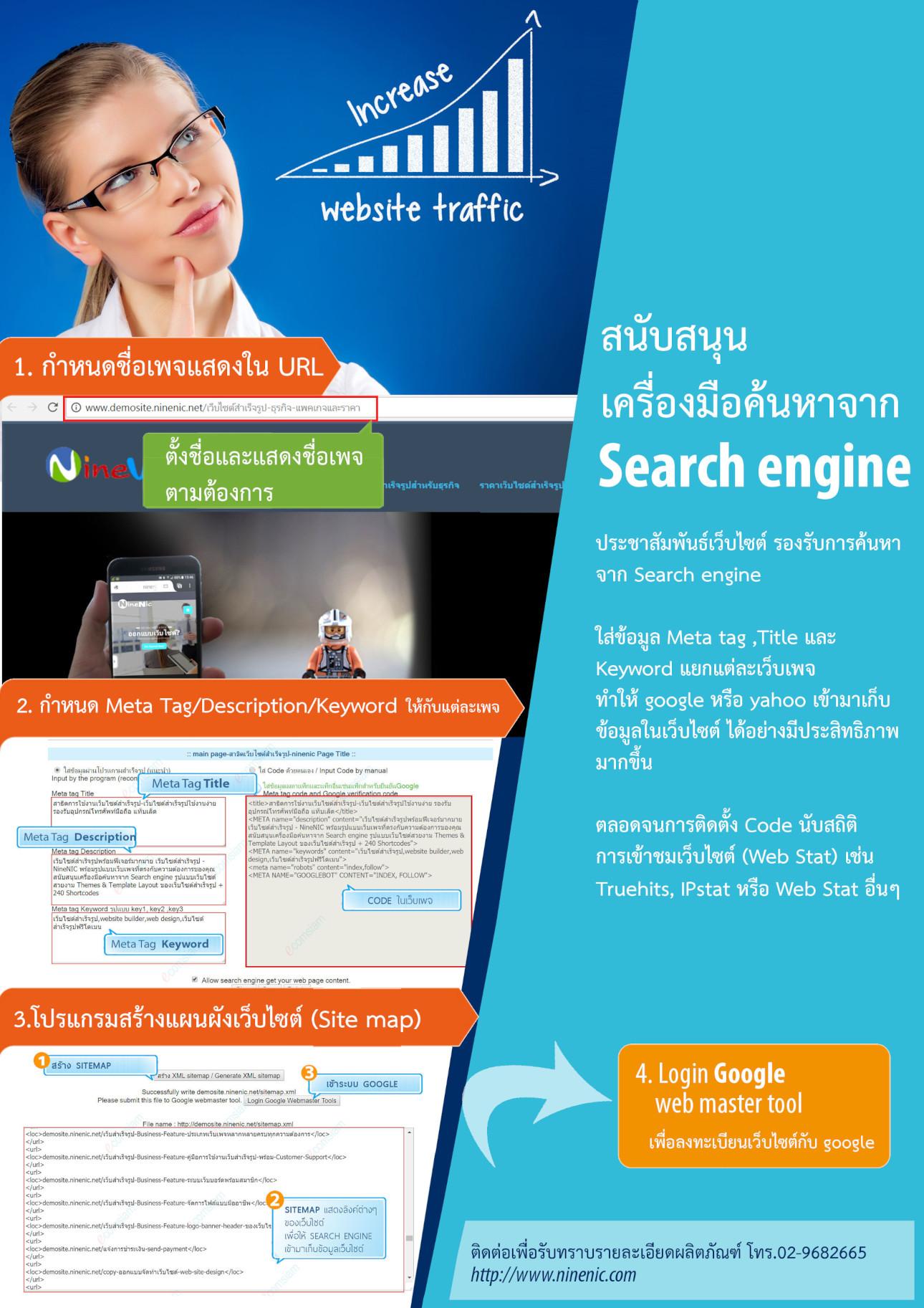 โบรชัวร์เว็บสำเร็จรูปสำหรับองค์กร ธุรกิจ-เว็บไซต์สำเร็จรูปไทย บริการ เว็บสำเร็จรูปใช้งานง่าย เว็บสำเร็จรูปสำหรับธุรกิจและอีคอมเมอร์ส รองรับอุปกรณ์โทรศัพท์มือถือ แท็บเล็ต บริการเว็บไซต์สำเร็จรูป สำหรับเปิดร้านค้าออนไลน์ ขายของออนไลน์ ขายสินค้าออนไลน์ พร้อมตระกร้าสินค้า ecommerce solution - เว็บสำเร็จรูป ฟรีโดเมน ฟรี SSL ฟรีเว็บไซต์เทมเพลต Layout สำเร็จรูป แนะนำเว็บสำเร็จรูปและการสร้างเว็บไซต์ ออกแบบเว็บไซต์ บริการดี ดูแลดี แนะนำโดย เว็บไซต์สำเร็จรูปไทย.com เว็บไซต์สำเร็จรูปพร้อมฟีเจอร์มากมาย เว็บไซต์สำเร็จรูปที่มี รูปแบบเว็บเพจที่ตรงกับความต้องการของคุณ สนับสนุนเครื่องมือค้นหาจาก Search engine รูปแบบเว็บไซต์สวยงาม Themes & Template พร้อม Layout ของเว็บไซต์สำเร็จรูป