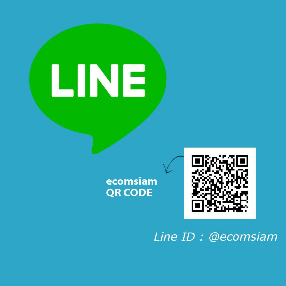 ติดต่อเว็บไซต์สำเร็จรูปไทย ติดต่อ Line ID :@ecomsiam โดยกด Add friend ได้ที่ https://line.me/R/ti/p/%40yel6714y และอ่าน QR Code ecomsiam บริการเว็บไซต์สำเร็จรูปสำหรับองค์กร อีคอมเมอร์ส เปิดร้านออนไลน์ รับจดทะเบียนโดเมนเนมและเว็บโฮสต์ติ้งคุณภาพ