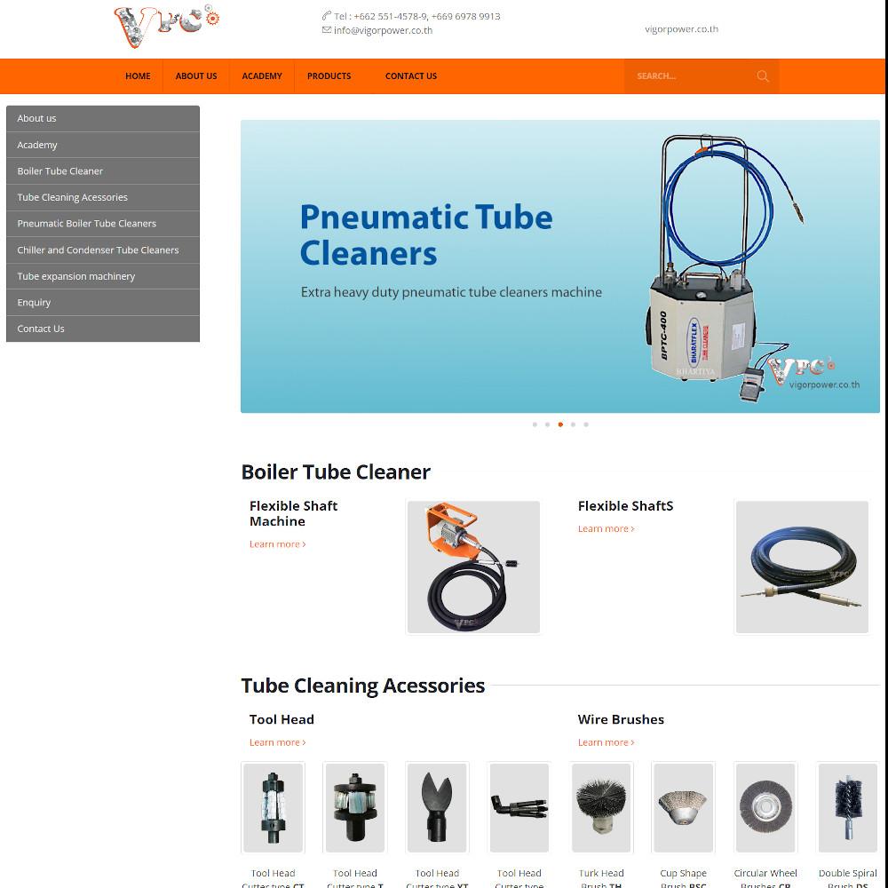 เว็บไซต์ องค์กร ธุรกิจ - เว็บไซต์สมาชิก เว็บไซต์สำเร็จรูป ninenic - vigorpower.co.th