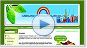 web design : ออกแบบเว็บไซต์ greenland-get.com